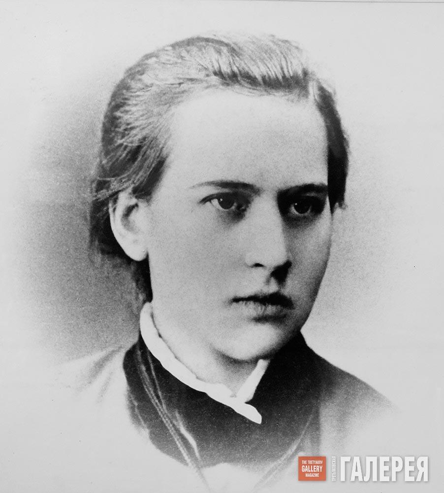 Anna Golubkina. 1882