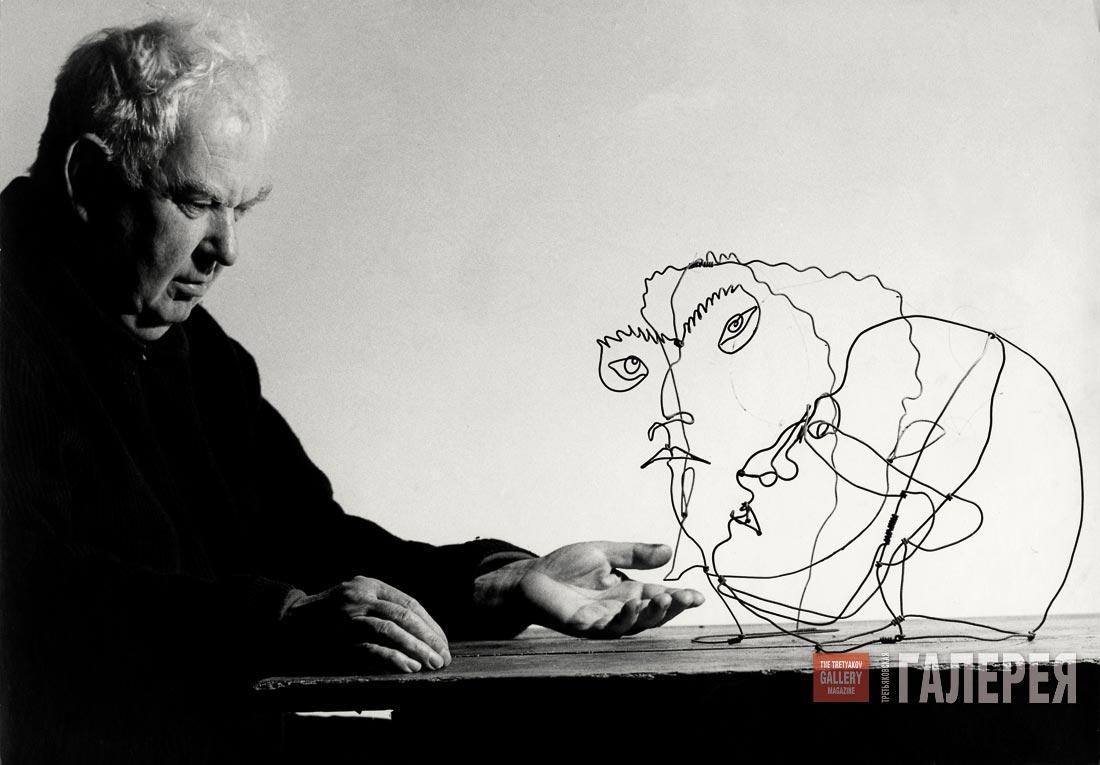 a biography of alexander sandy calder americas first abstract artist of international renown