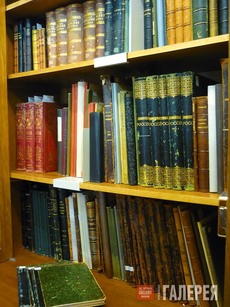 Книги из личной библиотеки п.м.третьякова каталог иллюстраци.