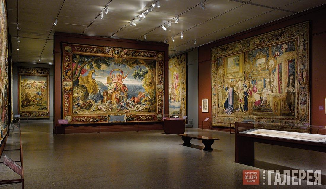 Третьяковская галерея панорама