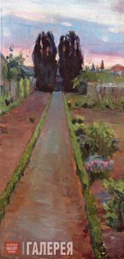 Якунчикова Мария. Дорожка. 1893