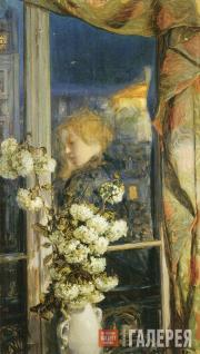 Якунчикова Мария. Reflet intime (Отражение интимного мира). 1894