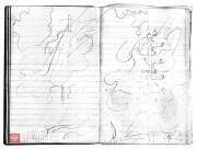 Yakunchikova Maria. Telegraph Poles. Sketches. Diary. 1897. March 3, [Wednesday]
