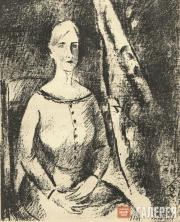 "Shevchenko Alexander. Drawing from the ""Makovets"" magazine (No. 1, 1922)"