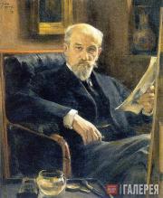 Браз Осип. Портрет А.П. Соколова. 1898