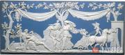 Josiah Wedgwood's workshop. A large jasper plaque, depicting Diana and Endymion.