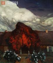 Ruszczyc Ferdynand. Old House. 1903