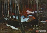 Ruszczyc Ferdynand. Forest Brook. 1900