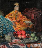 Kotov Pyotr. Bukhara Bride. 1925