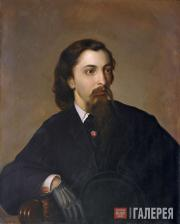 Portrait of Andrei Lykhachev (From the original work by Pavel Römer)