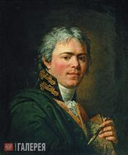 Ivanov Andrei. Self-portrait. Mid-1800s