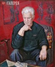Stronsky Pyotr. Portrait of Timofei Stronsky, Veteran of the Karelian Front. 201