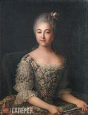 Ivan ARGUNOV. Portrait of Countess V.P. Sheremetyeva. 1766