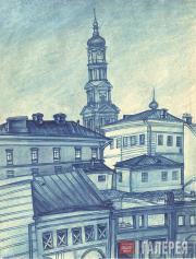 Kosarev Boris. Old Kharkov. 1921