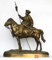 Е.А. Лансере. Северный афганец. Модель 1870-х