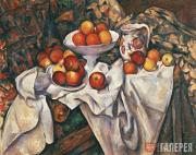 Paul CEZANNE. Apples and Oranges. c.1899
