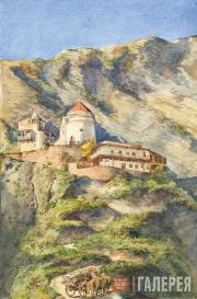 Yekaterina Lanceray (née Benois). Caucasus. 1870s