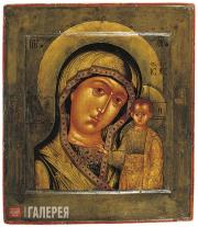 Prokopii Chirin. Our Lady of Kazan. 1606
