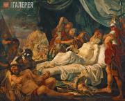 Ivanov Andrei. The Death of Pelopidas. 1805-1806