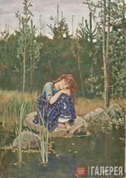 Аленушка. 1880. Эскиз