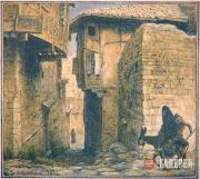 Lanceray Eugene E. Street in Ankara. 1923