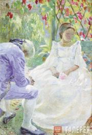 Борисов-Мусатов Виктор. Осенний мотив. 1899