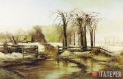 Savrasov Alexei. A Day in the Spring. 1873