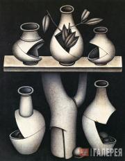 Krasnopevtsev Dmitry. Five Broken Jugs. 1972
