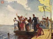 Yablonskaya Tatiana. On the Dnieper. 1952