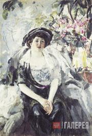 Шемякин Михаил. Портрет Дукмасовой. 1914