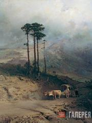 Vasilyev Fedor. In the Crimean Mountains. 1873