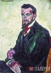 Konchalovsky Pyotr. Portrait of D.P. Konchalovsky. 1909