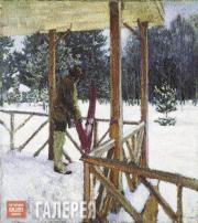 Vinogradov Sergei. A Hunter with Skis. 1912 (?)