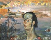 Dali Salvador. Self-portrait with Raphaelesque Neck. c. 1921