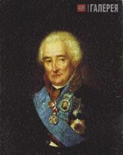 Щукин Степан. Портрет князя П.В.Лопухина. 1826