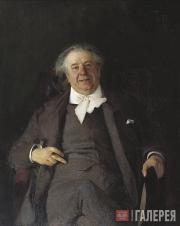 Korin Alexei. Portrait of Nikolai Medyntsev. 1891