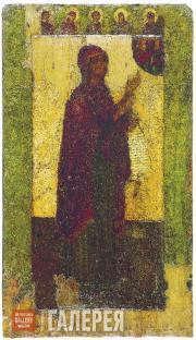 Неизвестный художник. Богоматерь Боголюбская. Около 1158