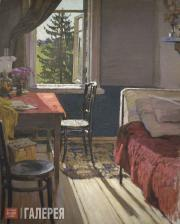 Korin Alexei. The Artist's Room at the Maryino Estate. Early 1900s
