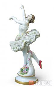 "Sculptural composition of Anna Pavlova from the ballet ""La Sylphide"""