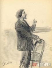 Корин Алексей. И.Е. Репин. 1901