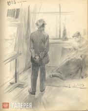 Korin Alexei. In the Studio. 1902