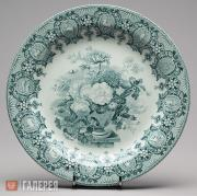 "Plate with ""Zodiac"" Pattern"