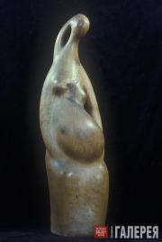 Silis Nikolai. Pregnant Woman. 1966