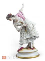 "Sculptural composition of Vera Trefilova as Kitri from the ballet ""Don Quixote"""