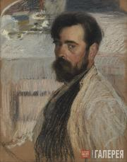 Korin Alexei. Self-portrait. 1915