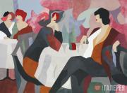 """Verhovsky Lora. Café """"Maimon"""". 1999"""
