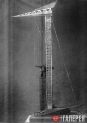 Екатерина и Михаил БЕЛАШОВЫ.  Проект памятника Т.Г.Шевченко в Киеве. 1930–1931 г