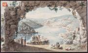 Корнеев Емельян. Вид Балаклавского залива. 1804