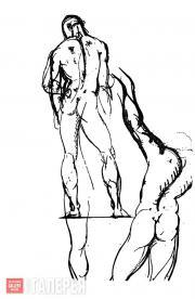 Benjamin Robert Haydon. Wilson, the Negro model. September 1810