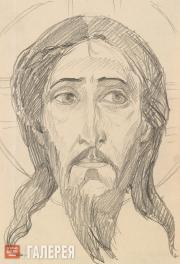 Nesterov Mikhail. Head of Christ.